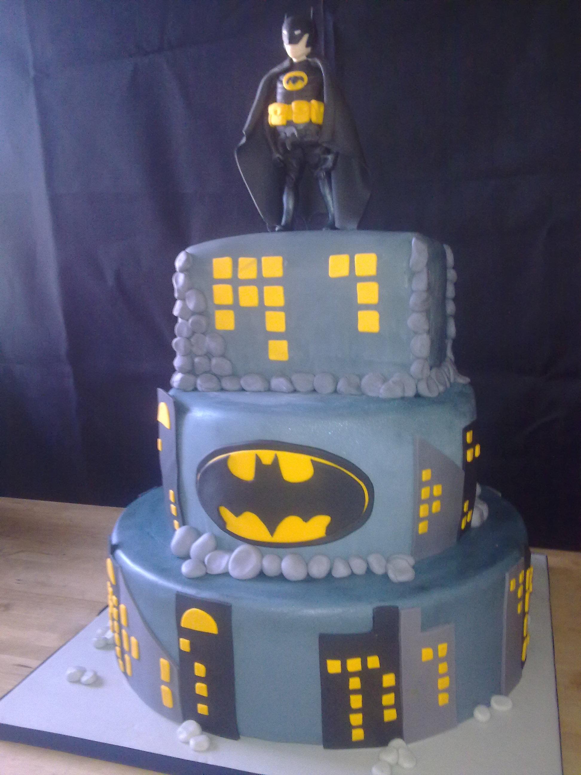 Batman Torte Zum 18 Sweet Cake Corner Hamburg
